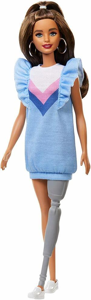 Barbie Fashionistas con Protesi alla Gamba - Mattel FXL54 - 3+