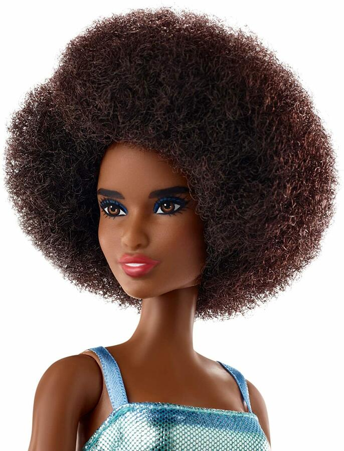 Barbie Afro Style - Mattel GHT32 - 3+