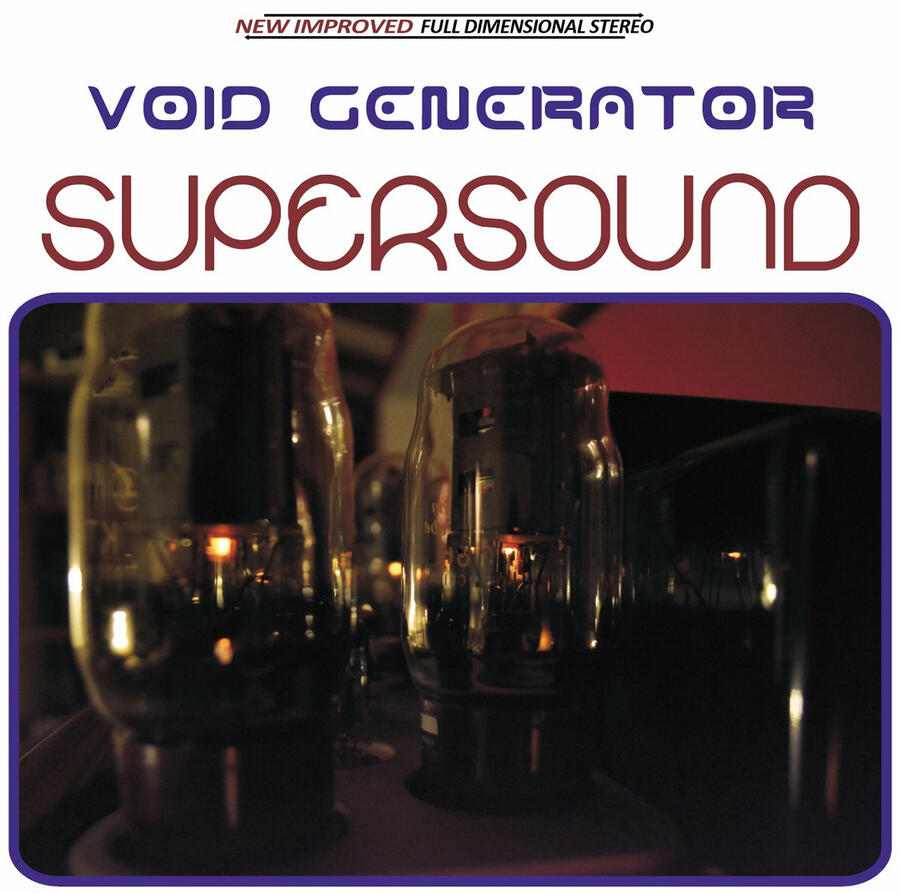 VOID GENERATOR - SUPERSOUND - LP BLACK'N'BLUE (Phonosphera)