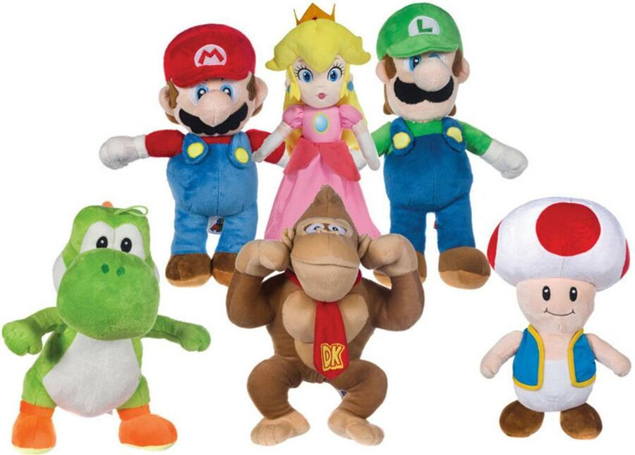 Yoshi Peluche 61 cm Super Mario Bros - PTS 5216Y