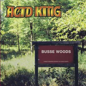 ACID KING - BUSSE WOODS - LP COLORED VINYL (Riding Easy Rec)