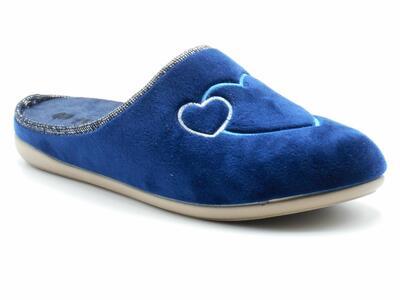 InBlu GF000008 ciabatte donna invernali blu