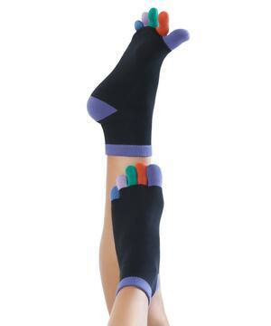 Calzini Knitido Rainbows Short toe socks, Frosty Nights 181