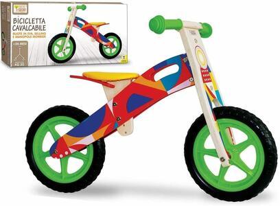 Cavalcabile senza pedali in legno  - Fatto di Legno 40594 - 24+ mesi