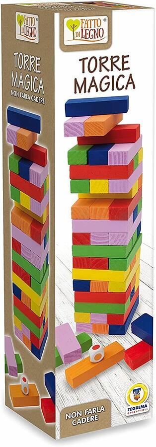 Jenga Torre Magica - Fatto di Legno 40524 - 3+