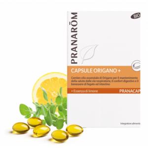 Pranarom - Capsule Origano+ bio