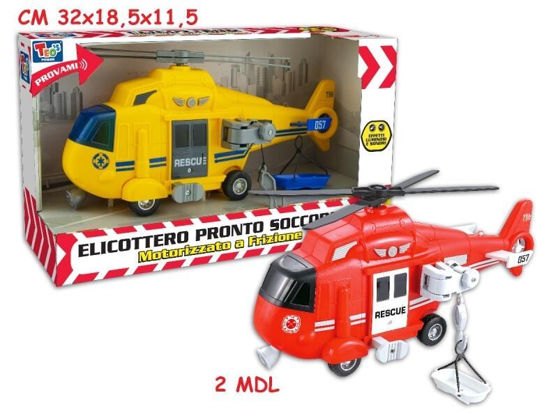 Elicottero pronto intervento - Teo's Power 66554 - 3+