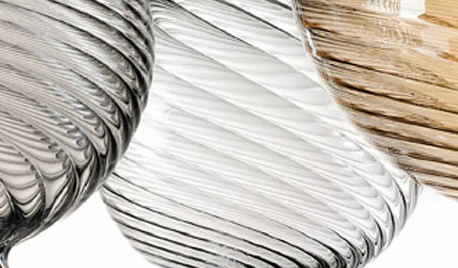 Lampada a Sospensione SAN MARCO in Vetro Soffiato e Metallo Cromato di Evi Style, Varie Misure e Finiture - Offerta di Mondo Luce 24