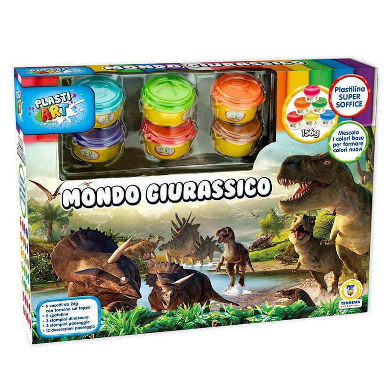 Plastilina Mondo Giurassico - Plasti Art 66812 - 3+