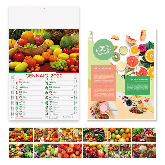 """100 Calendari 2022 """"Frutta & Verdura"""""""