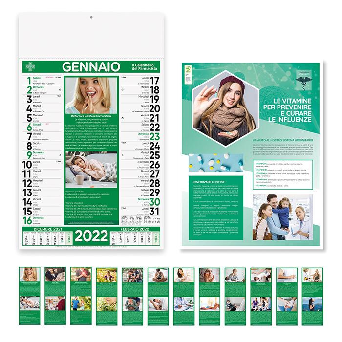 """100 Calendari 2022 """"Farmacia"""""""