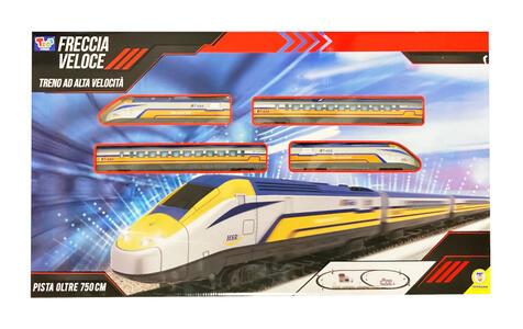 Trenino Freccia Veloce con pista - Teorema 66694 - 3+
