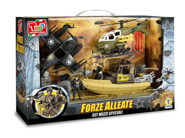 Playset Forze Alleate - Teo's Adventures 66883 - 3+