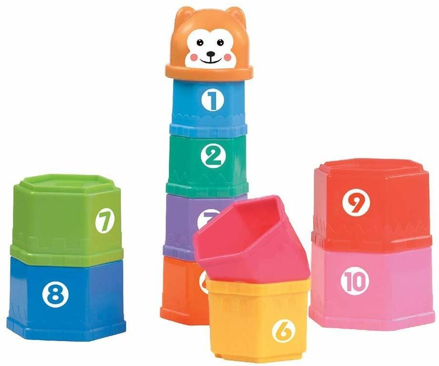 Torre Colorata forma e colori - GoGo 64171 - 12+ mesi