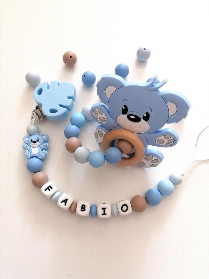 Set Orso azzurro