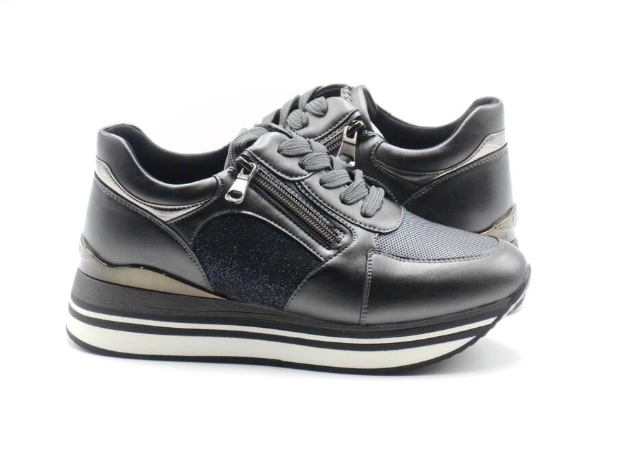 InBlu IN00279 sneakers donna grigie