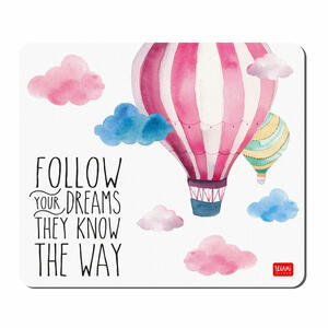Tappetino per Mouse - FOLLOW YOUR DREAMS