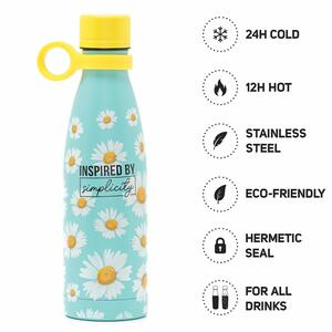 Hot&Cold - Bottiglia Termica 500 ml - DAISY