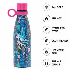 Hot&Cold - Bottiglia Termica 500 ml - FLORA