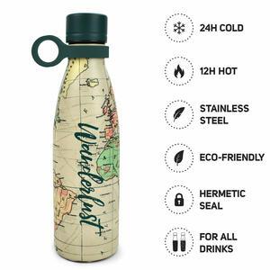 Hot&Cold - Bottiglia Termica 500 Ml - linea VIAGGIO
