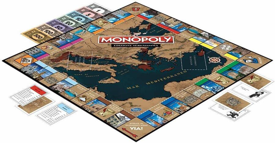 Monopoli edzione Serenissima - Hasbro WM01774 - 8+