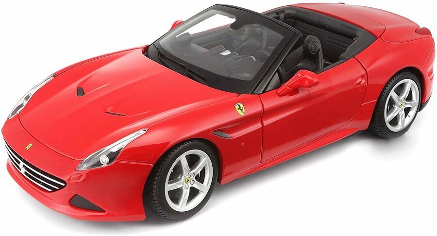FerrariCalifornia T (Open Top) 1:18 Bianca - Burago 16007 - 3+