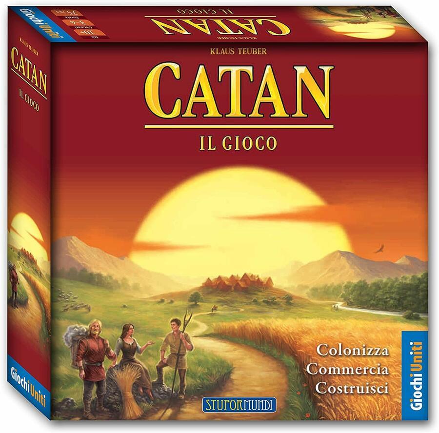 Catan Il Gioco - Giochi Uniti GU445 - 10+