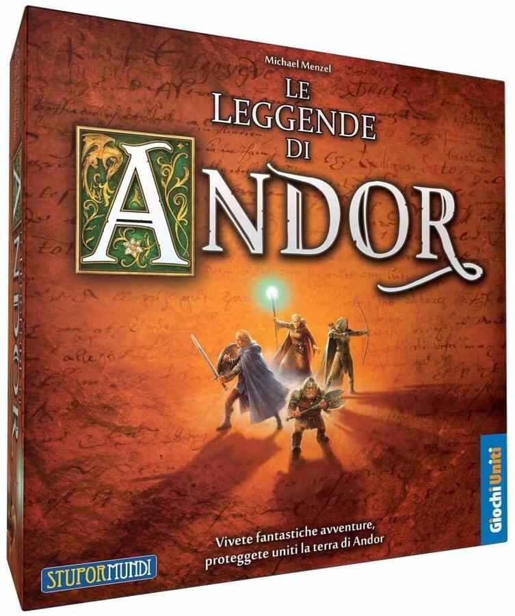 Le Leggende di Andor Set Base - Giochi Uniti GU063 - 10+