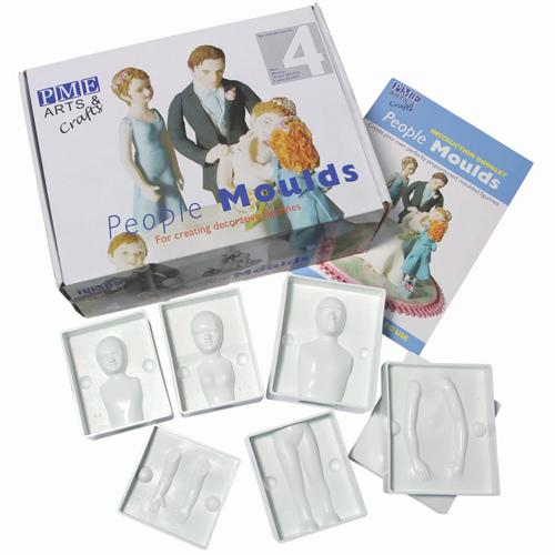 Stampo per persone (due adulti, due bambini) PME