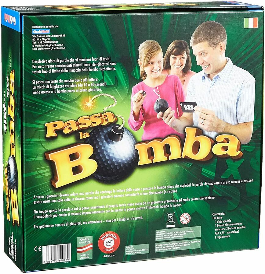 Passa la Bomba - Giochi UNiti GU034/2 - 12+