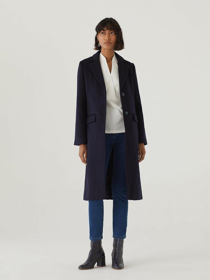 Cappotto blu