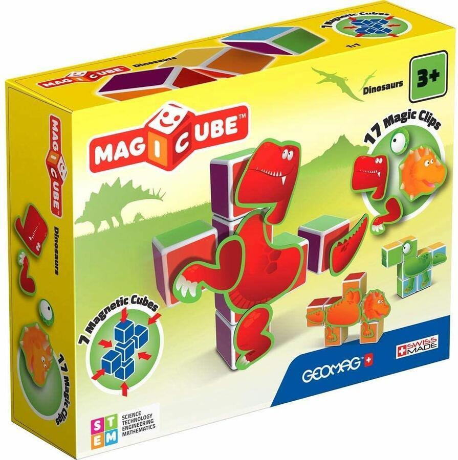 Magicube Dinosaurus - Geomag 141 - 3+
