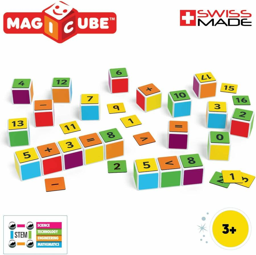 Magicube Maths Building - Geomag 083 - 3+