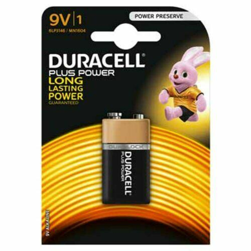 Pile 'plus power' transistor blister 1 pezzo 9 Volts duracell