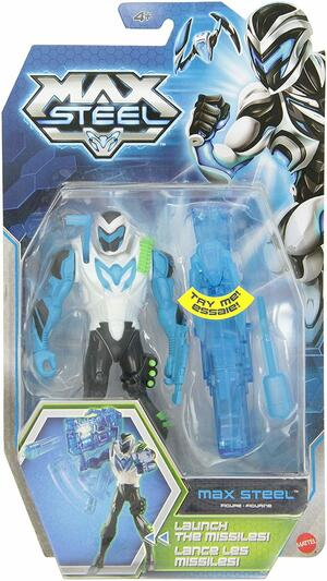 Max Steel Electro Cannon- Mattel BCH13 - 4+