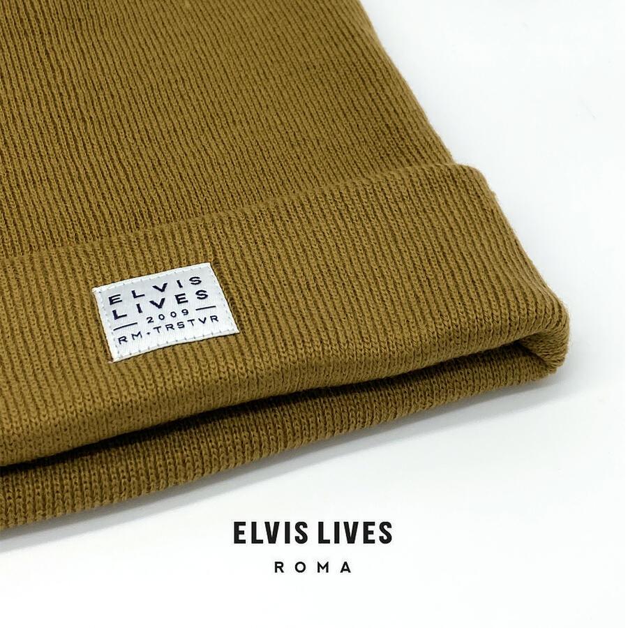 Elvis Lives Beanie - Caramel