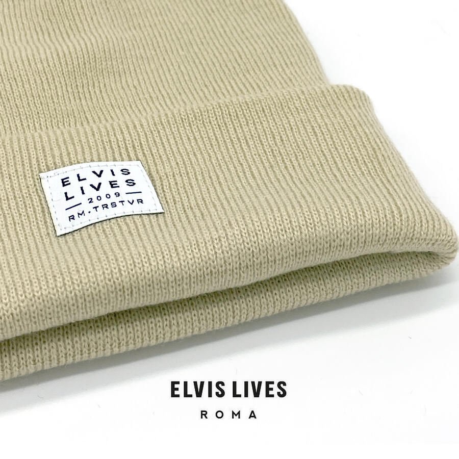 Elvis Lives Beanie - Cream