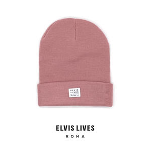 Elvis Lives Beanie - Dusty Pink
