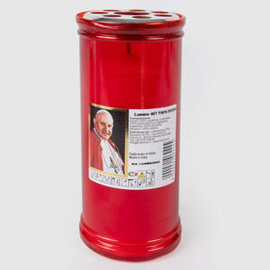 Lumino Votivo T40 Rosso Papa