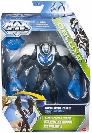 Max Steel Ms Power Orb - Mattel Y9508 - 4+