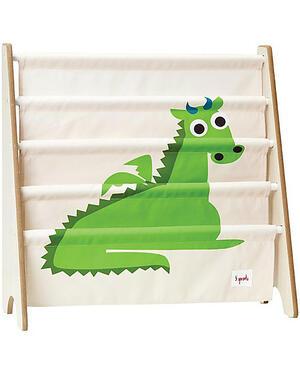 Libreria Frontale Montessoriana per Bambini - Drago Verde