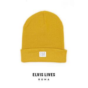 Elvis Lives Beanie - Mustard