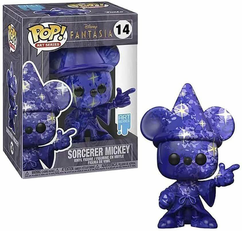 Pop Art Series Sorcerer Mickey - Funko 51941 - 3+