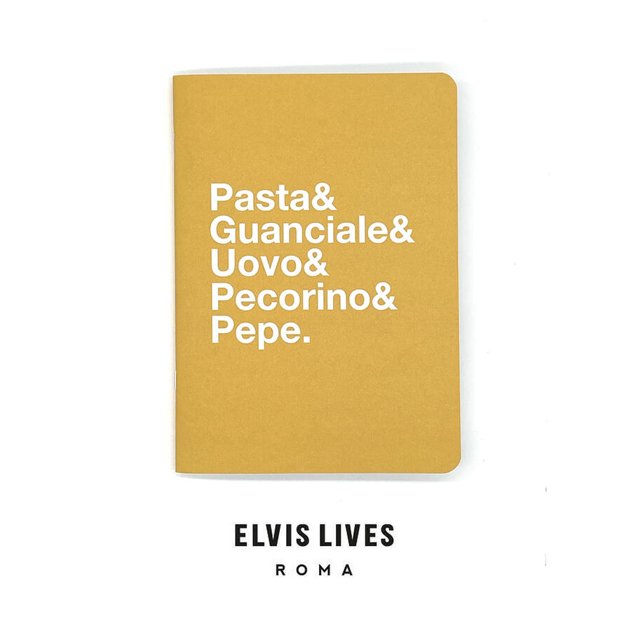 Quaderno Pasta