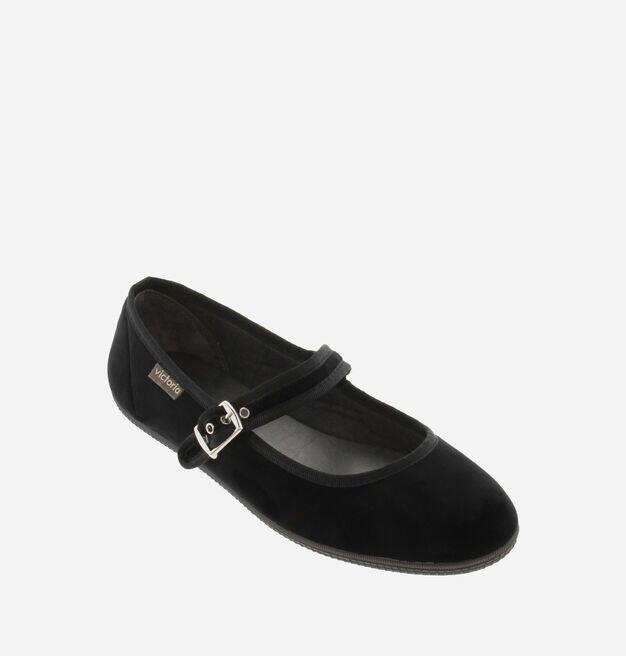 Victoria - Oda Ballerina - Velluto Negro