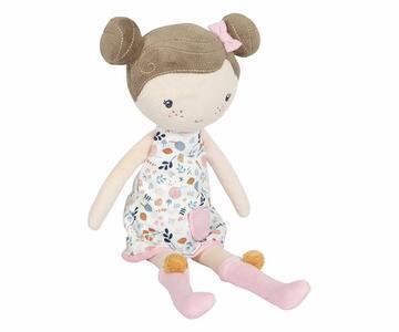 Bambola di stoffa Rosa
