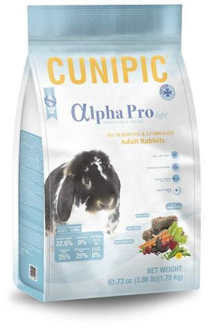 Cunipic Alpha Pro Light - Conigli adulti - sterilizzati