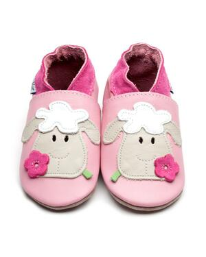 Babbucce Sheep Baby Pink