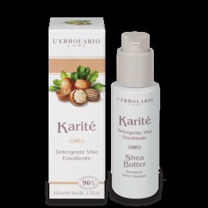 L'Erbolario - Karitè Detergente viso emolliente