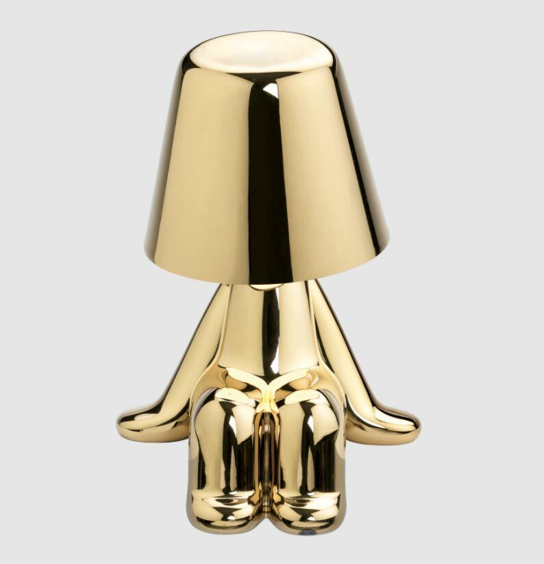 Lampada Ricaricabile da Tavolo GOLDEN BROTHERS SAM di Qeeboo - Offerta di Mondo Luce 24